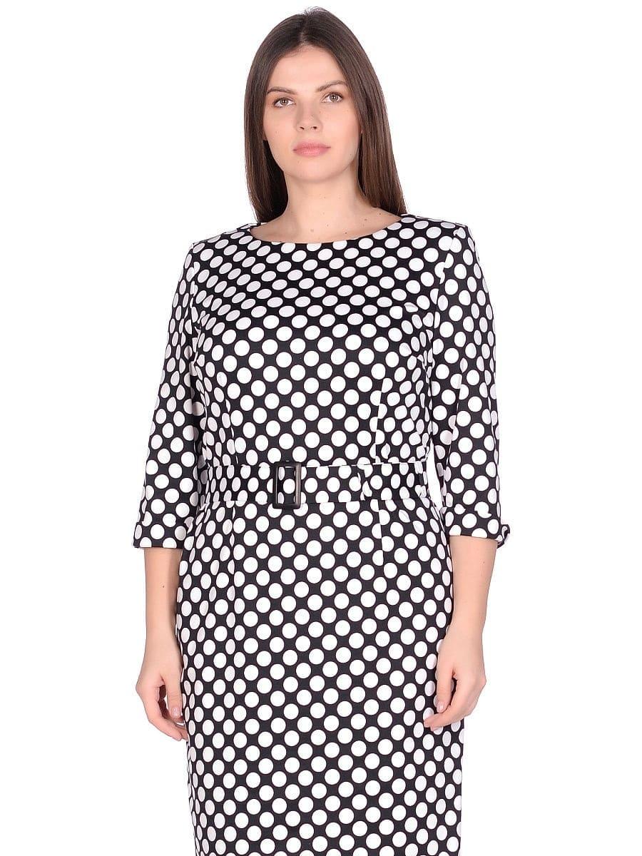 Женское платье LISA HR-1/315 цвет белый черный фото-2