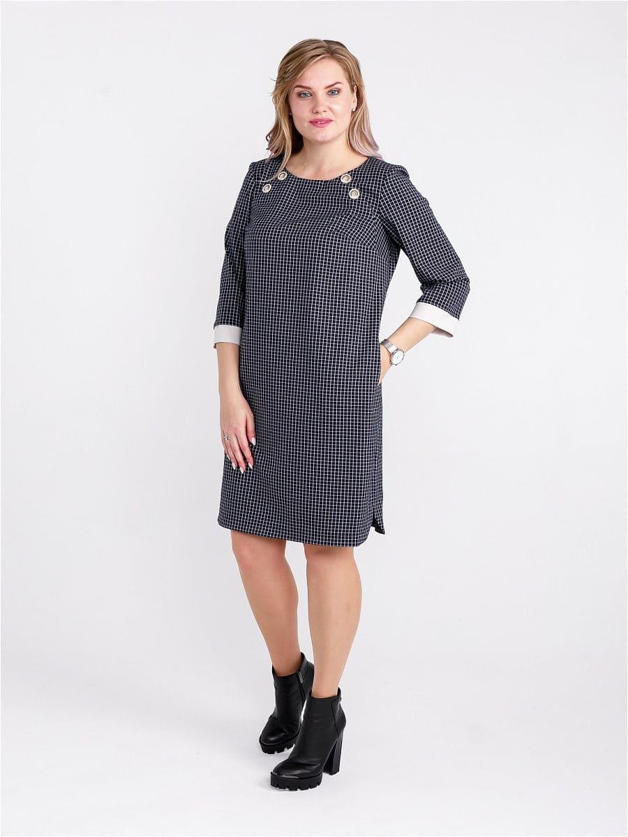 Женское платье LISA HR-1/316 синий фото-1