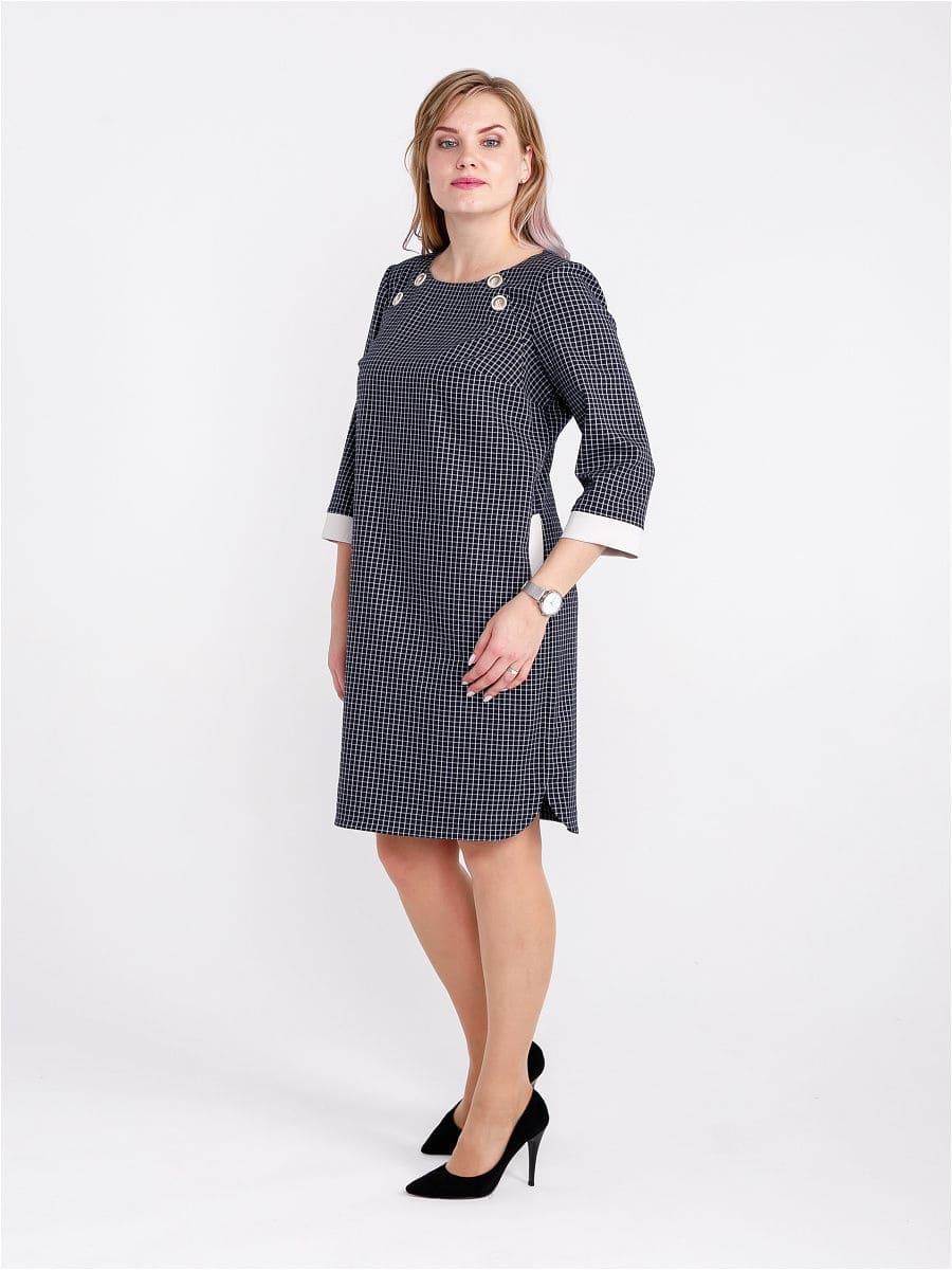 Женское платье LISA HR-1/316 синий фото-2