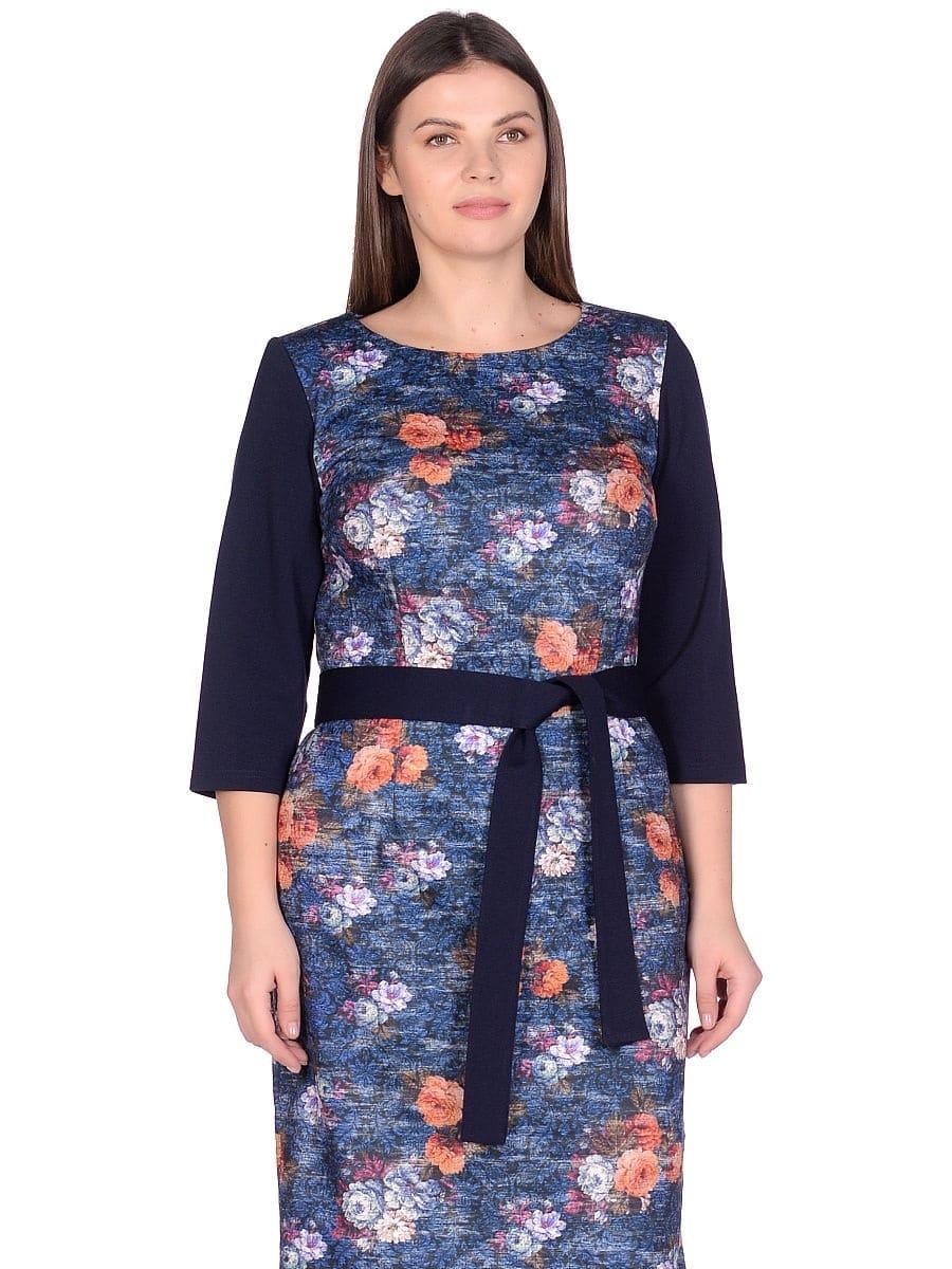 Женское платье LISA HR-1/345 синий фото-2