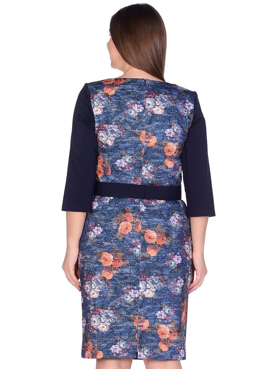 Женское платье LISA HR-1/345 синий фото-3