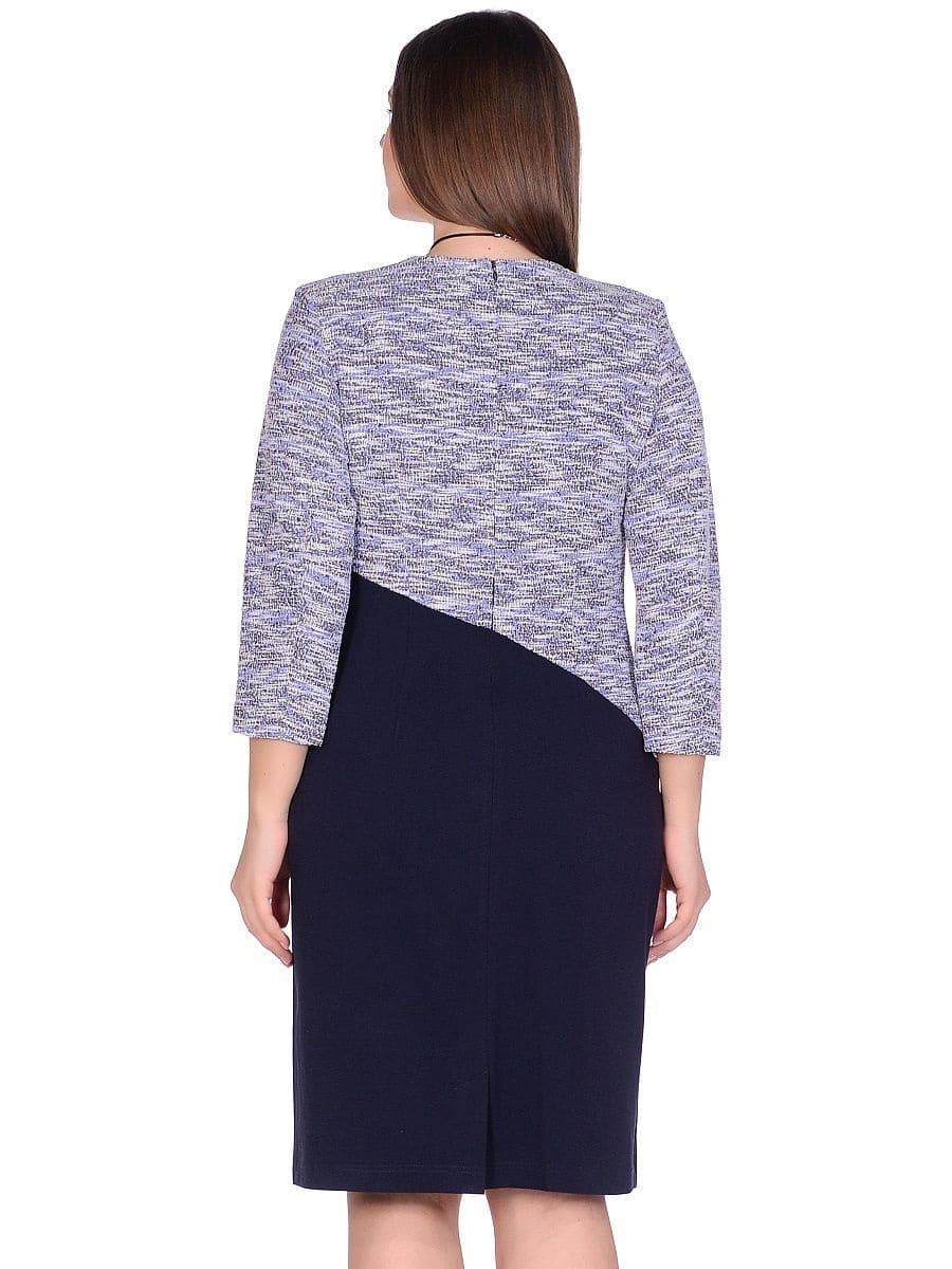 Женское платье LISA HR-1/322 синий фото-3