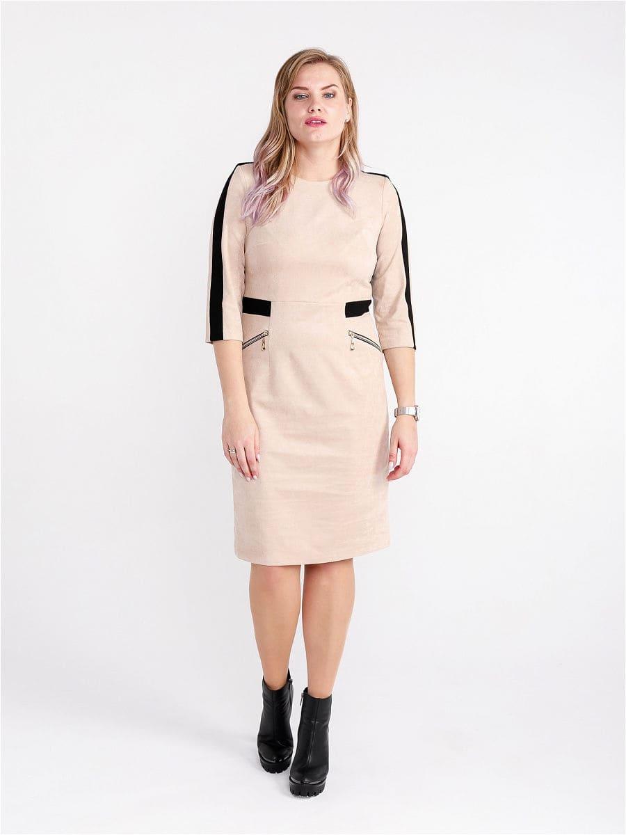 Женское платье LISA HR-1/331 бежевый фото-1