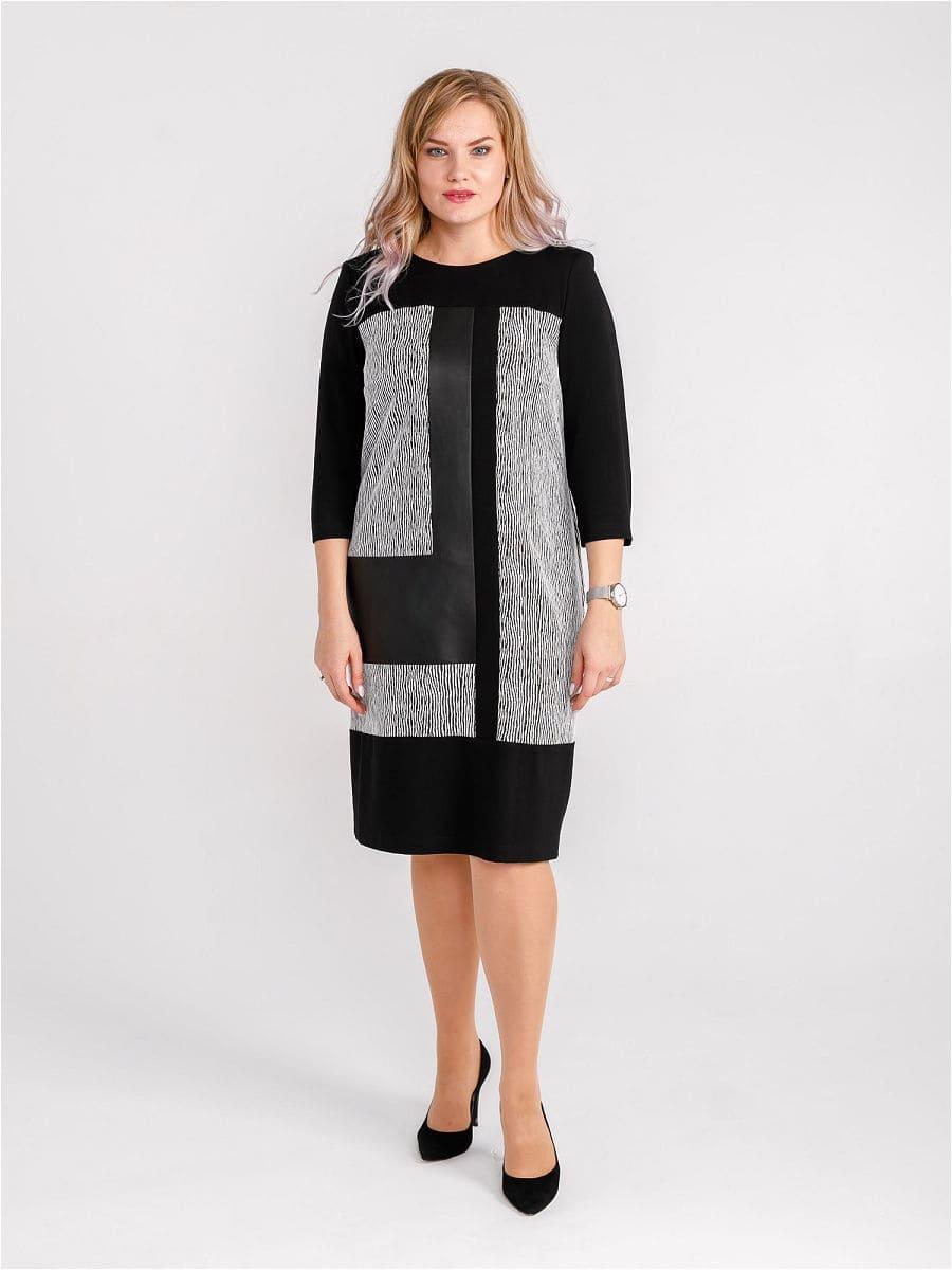 Женское платье LISA HR-5/209 черный фото-1