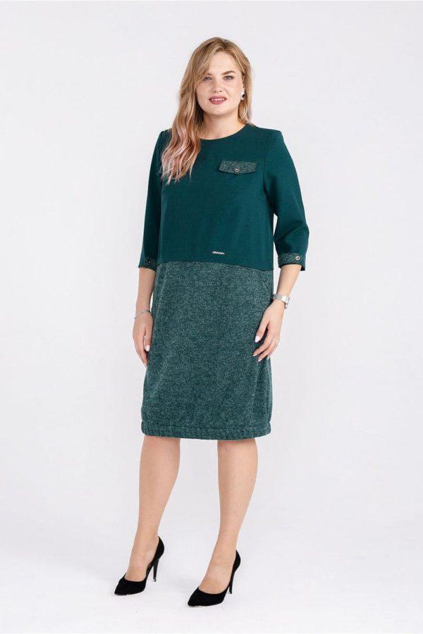 Женское платье LISA HR-5/439 зеленый фото-1