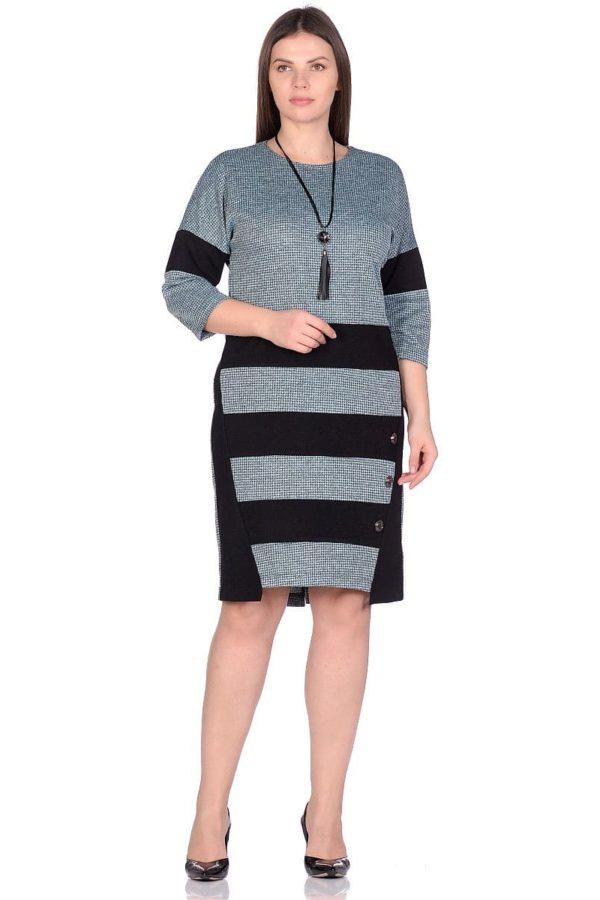 Женское платье LISA HR-5/466 зеленый фото-1
