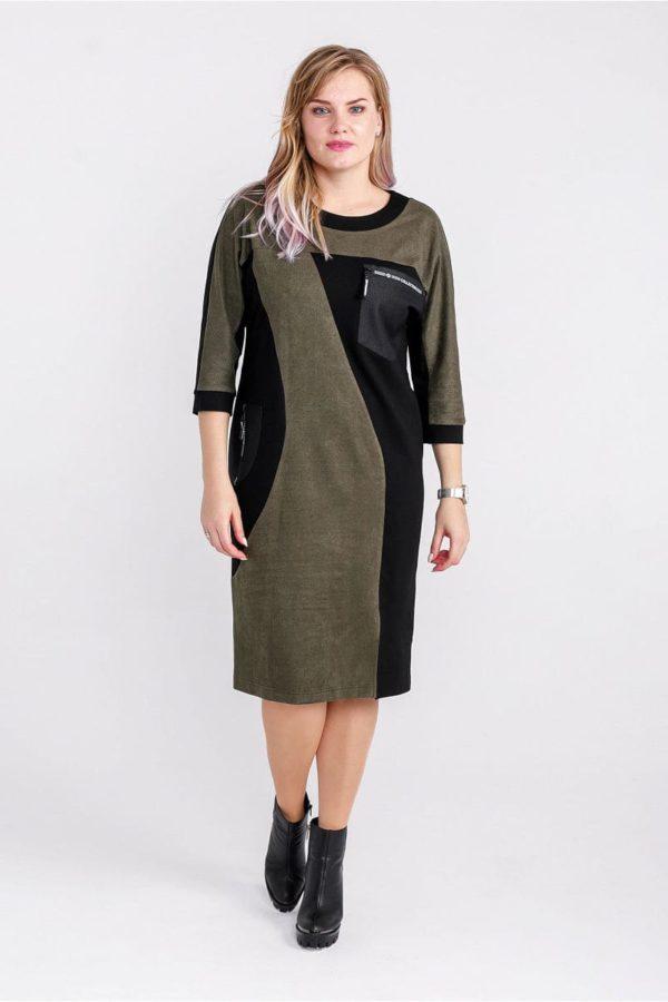 Женское платье LISA HR-5/479 зеленый фото-1