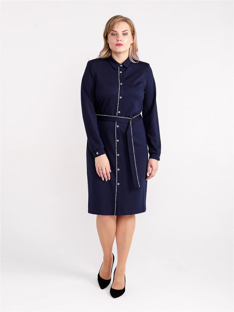 Женское платье LISA HR-5/480 синий фото-1