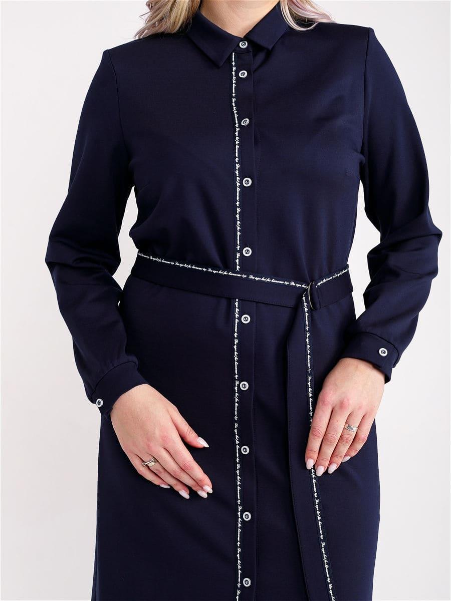 Женское платье LISA HR-5/480 синий фото-2