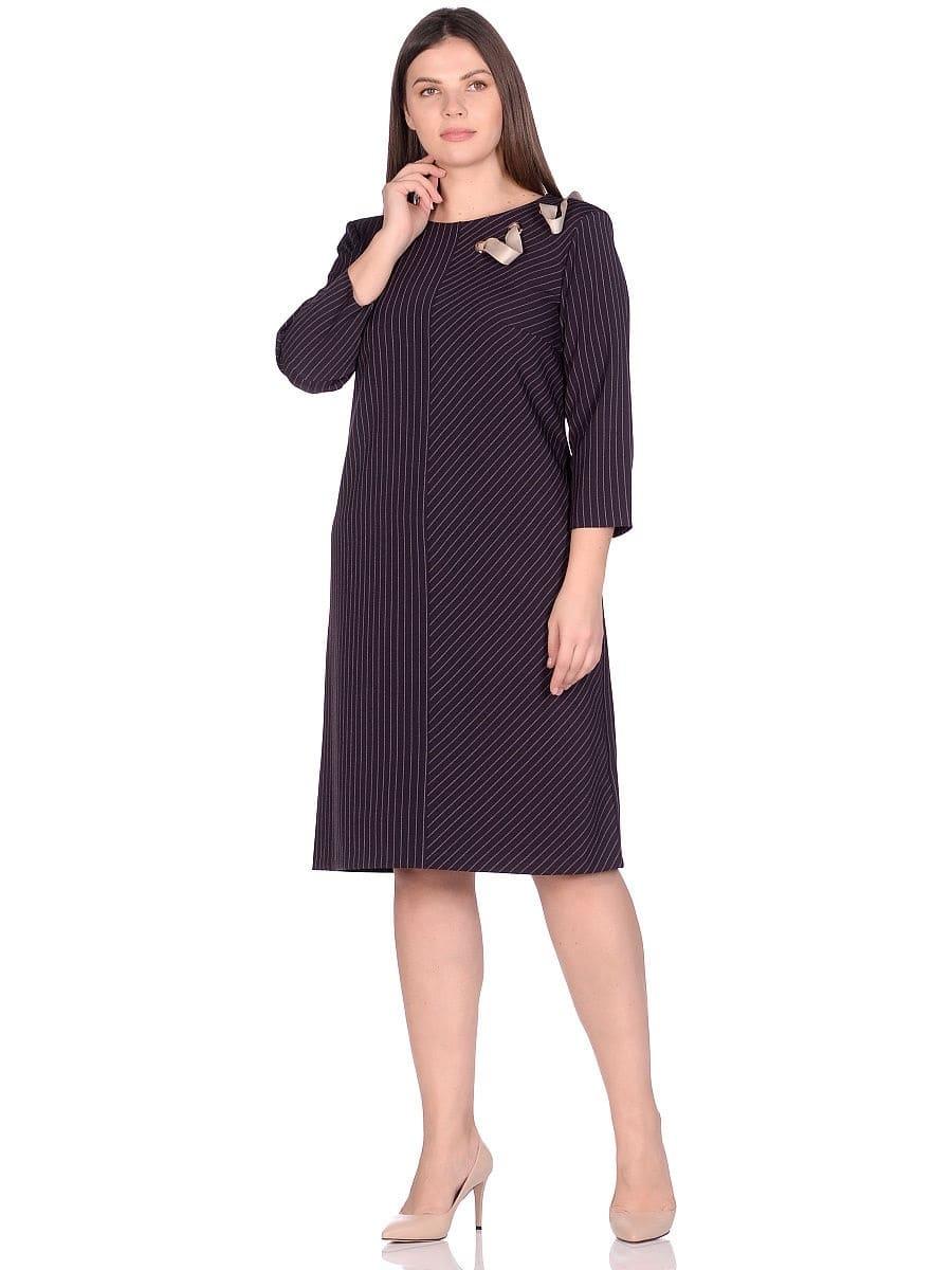 Женское платье LISA HR-5/441 баклажан фото-1