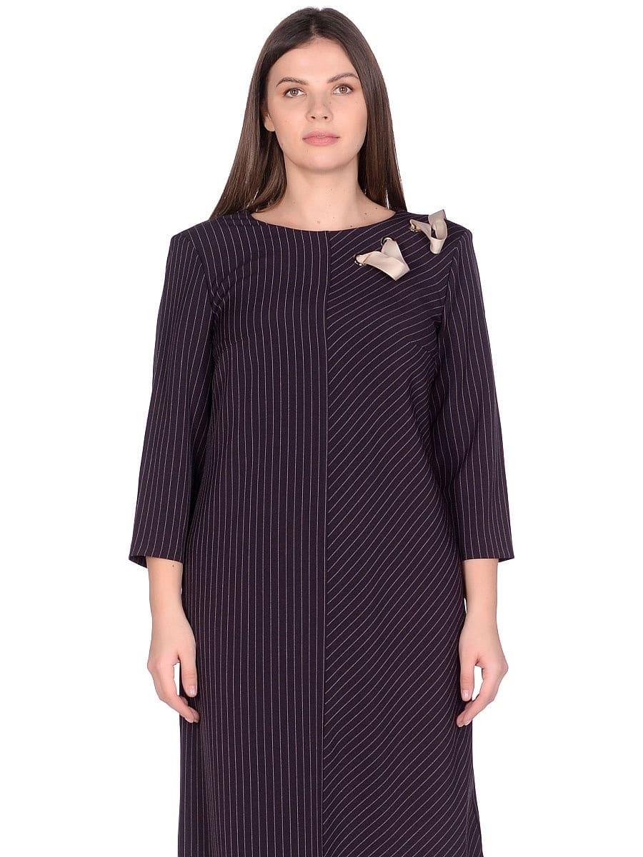 Женское платье LISA HR-5/441 баклажан фото-2