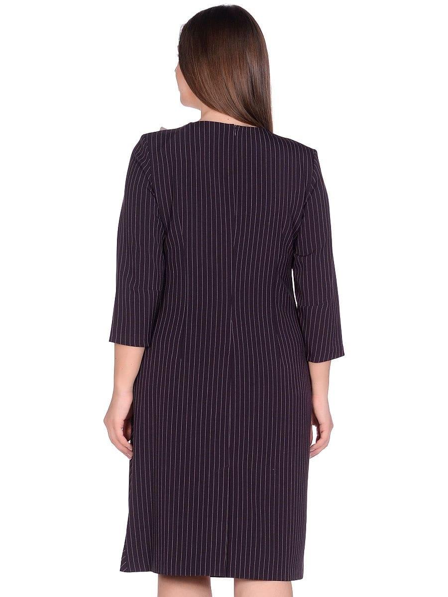 Женское платье LISA HR-5/441 баклажан фото-3