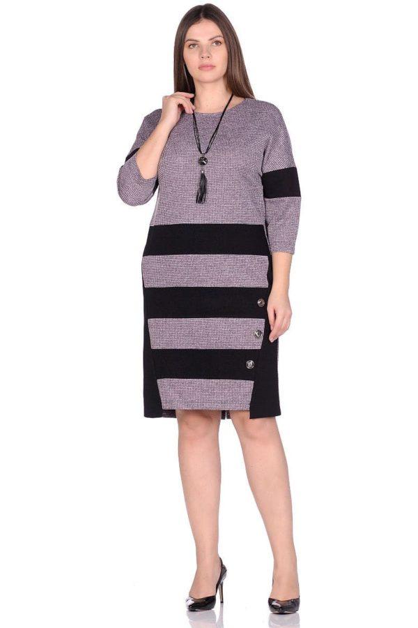 Женское платье LISA HR-5/466 розовый фото-1