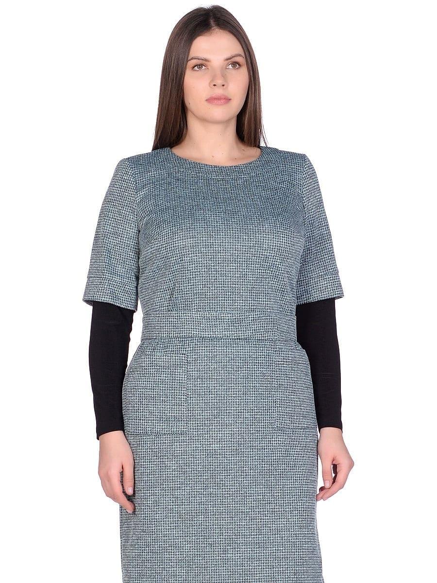 Женское платье LISA HR-1/319 зеленый фото-2