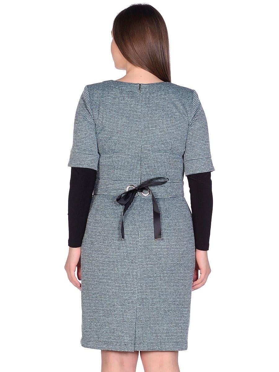 Женское платье LISA HR-1/319 зеленый фото-3