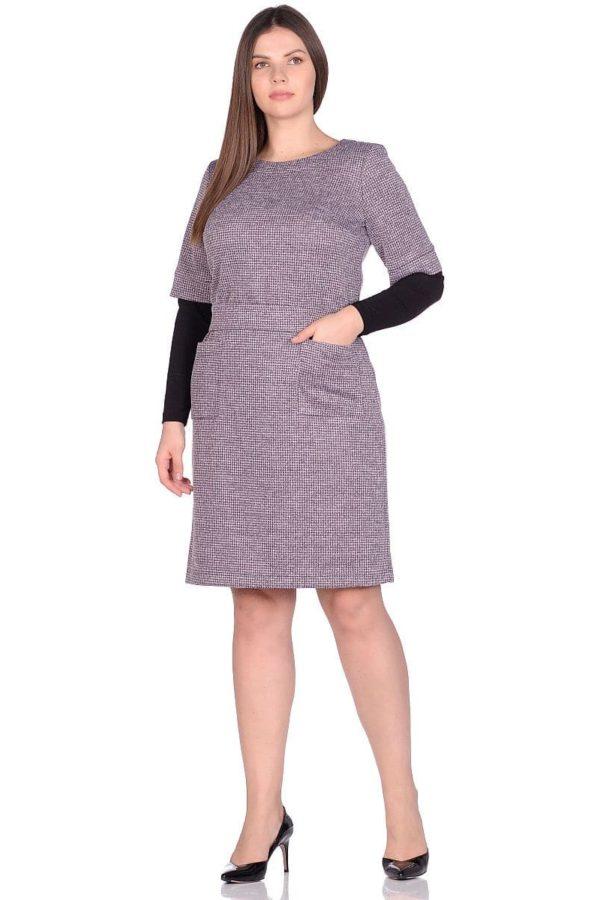 Женское платье LISA HR-1/319 розовый фото-1