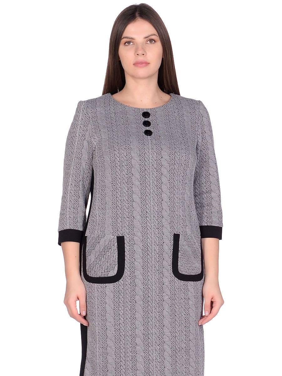 Женское платье LISA HR-5/223 серый фото-2