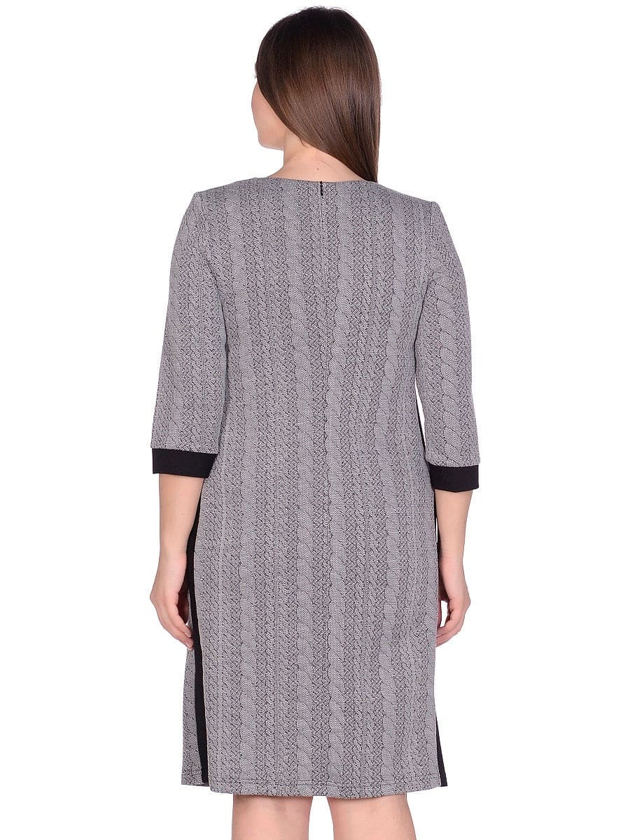 Женское платье LISA HR-5/223 серый фото-3