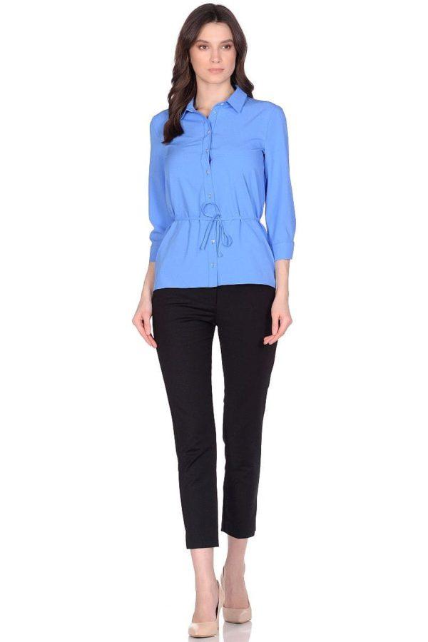 Женская блузка LISA HR-248 (цвет: голубой)